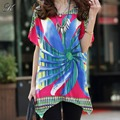 24 designs NEW 2016 spring summer women casual print short sleeve t shirt tops & tees plus size loose lady's fashion 3xl tiger