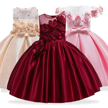 Vestido Niñas Vestidos Elegante De Verano Para Princesa Ygy6bf7v