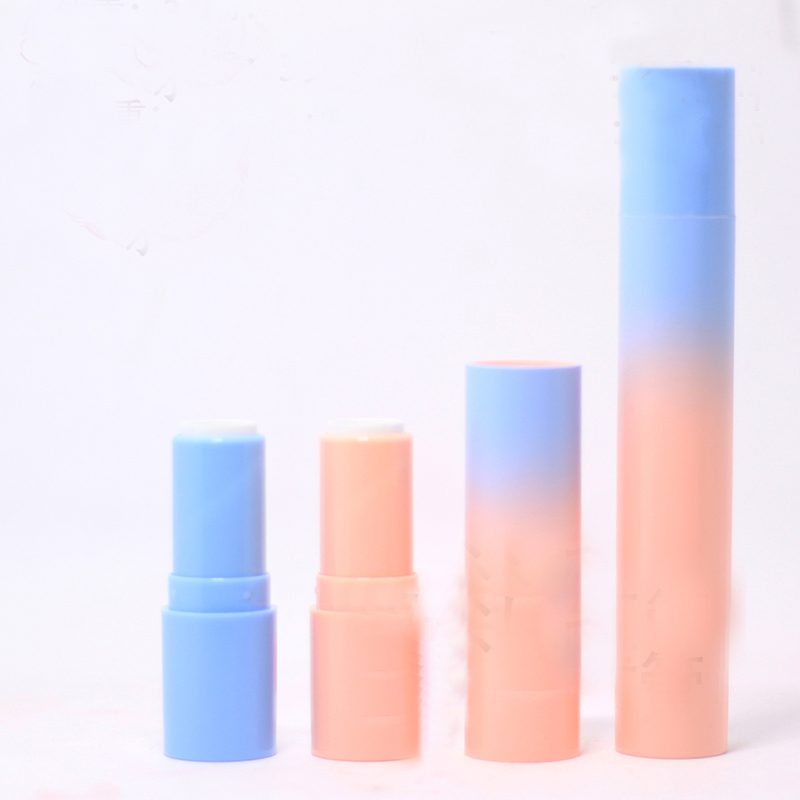 10/20/50pcs 12.1mm Double Head Lipstick Tube Empty Gradient Blue Pink Lip Balm/Rouge Pipe Shell DIY Cosmetic Refillable New Tool цена