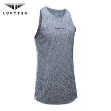 UABRAV Mens Gym Clothing Running Sport Vest Summer Breathable Mesh Basketball Training Crossfit Fitness Top Shirt Sleeveess