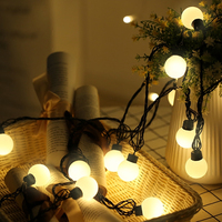 5M 50LED Small Ball LED String Lights Holiday Lighting For New Year Xmas Outdoor Garland Festival