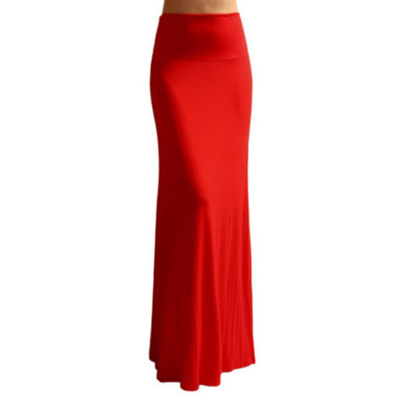 Bohemian Style Long Cotton Skirts Autumn Casual Pencil Maxi Skirt Women Bandage Pleated