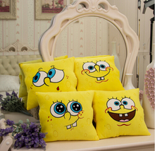 Cartoon Sponge Bob Pillow