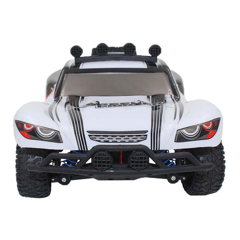 ФОТО RC Car 1/18 2.4GHz RC Monster 50km High Speed Stunt Dirt Bike Remote Control Off Road Crawler RC Car Model with LED Light