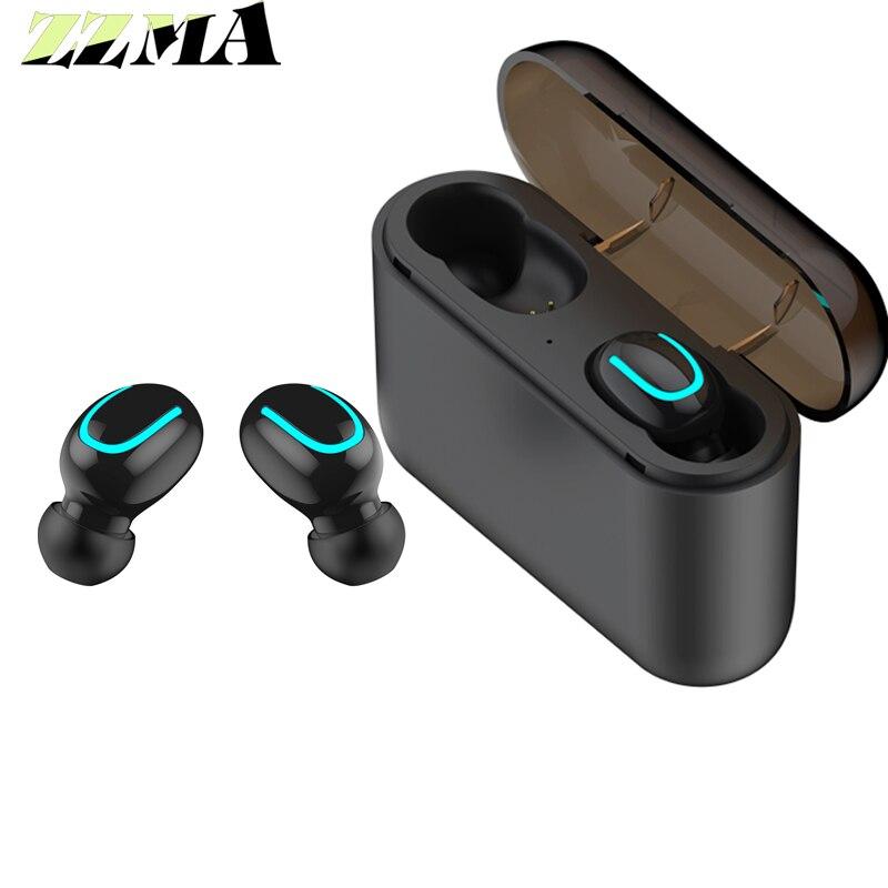 TWS  Bluetooth 5.0 Earphones Wireless Headphones Blutooth Earphone Handsfree Headphone Sports Earbuds For Anyphone