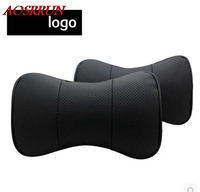 Free Shipping MG5 MG3 MG6 MG7 GT 2011 2012 2013 2014 2015 Special Leather Headrest Car