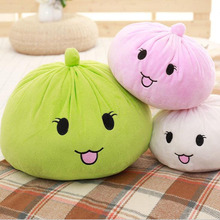 Simulation Plush Toy Buns Taro Food Pillow Doll Cute Dumplings Creative Toys Children Holiday Gift Sofa Decoration