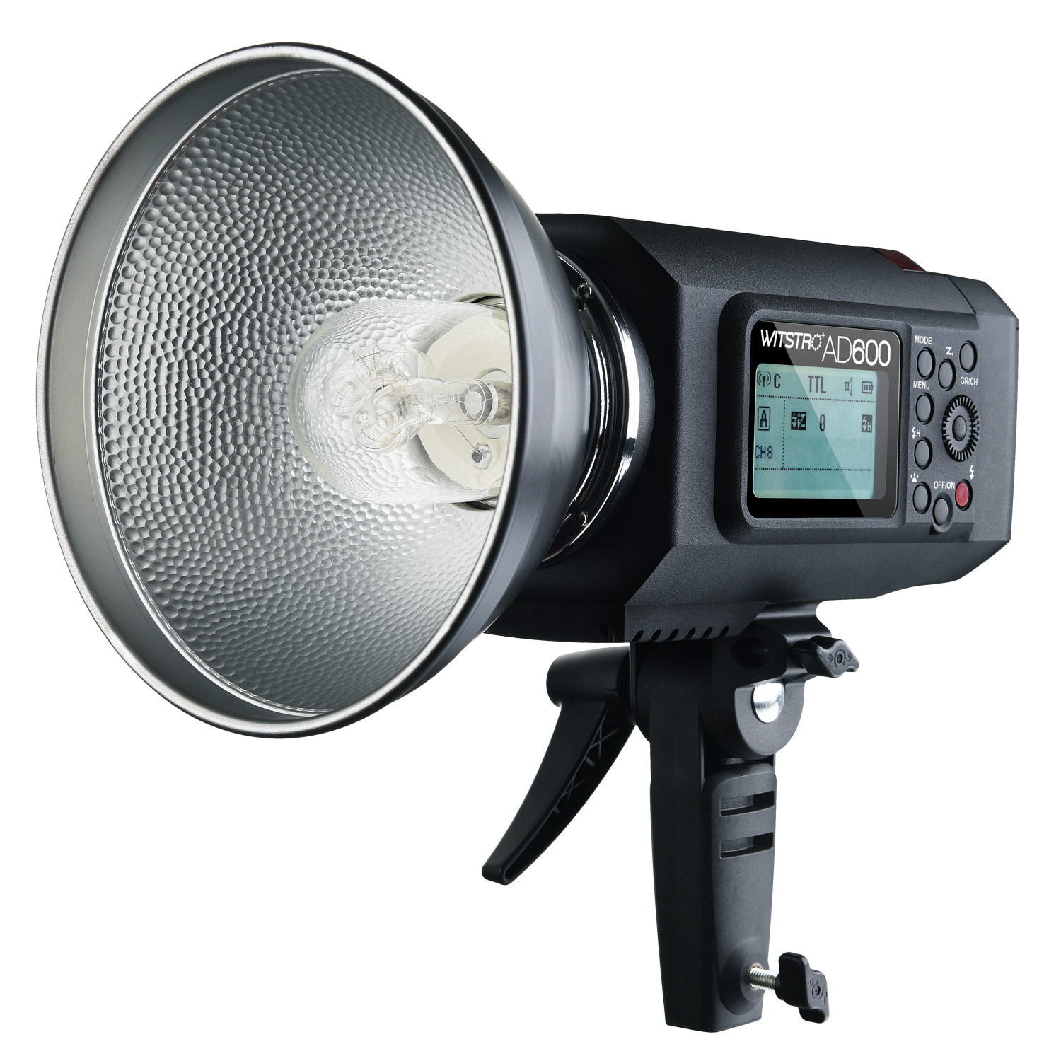 Godox Photo studio AD600 600WS dual flash high-speed synchronous version of the manual built-in flash NO00DC the woman in the photo