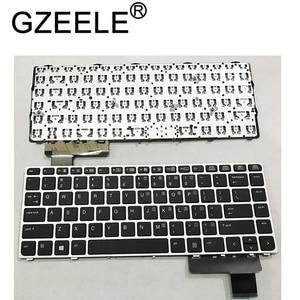 Image 1 - GZEELE English Laptop keyboard for HP EliteBook Folio 9470M 9470 9480 9480M 702843 001 US Replace Keyboard Silver