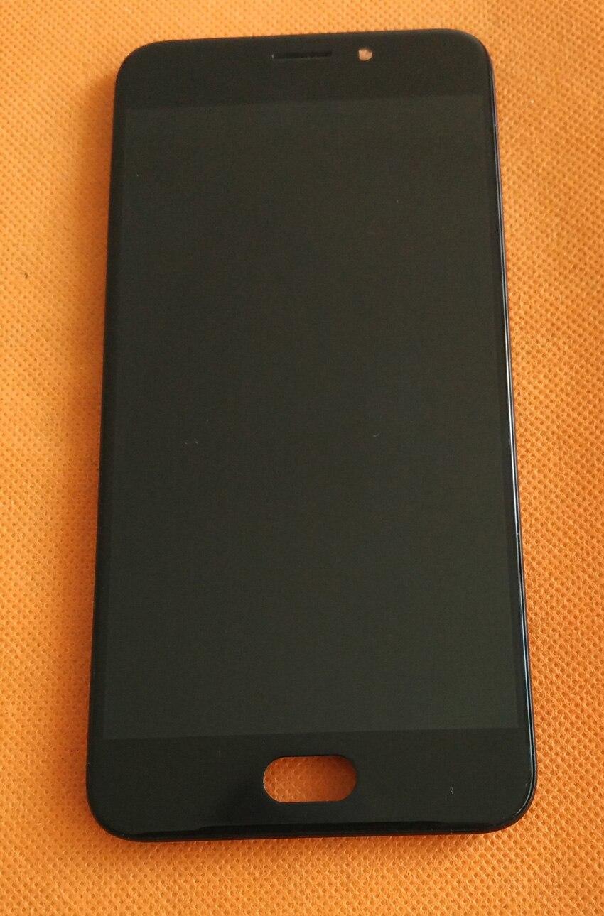 Использовать оригинальный ЖК-дисплей Дисплей + Сенсорный экран + Рамки для umidigi UMI плюс E helio p20 FHD 5.5 ''Бесплатная доставка