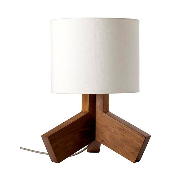 b55c578570e6 Nordic Wooden Table Lamp With Led Bulb White Cloth Lampshade Desk Lights  For Bedside Bedroom Study Lighting Fixtures TL66