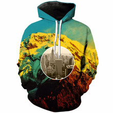 Liu Maohua mens womens abstract collection boss 3D printing round neck casual pullover hip hop hooded sweatshirt style S-5XL