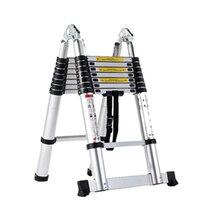 2,2 м алюминиевая Многофункциональная лестница для фотосъемки, домашнего хозяйства, наружной инженерии, живописи, 160 кг грузоподъемность складной табурет