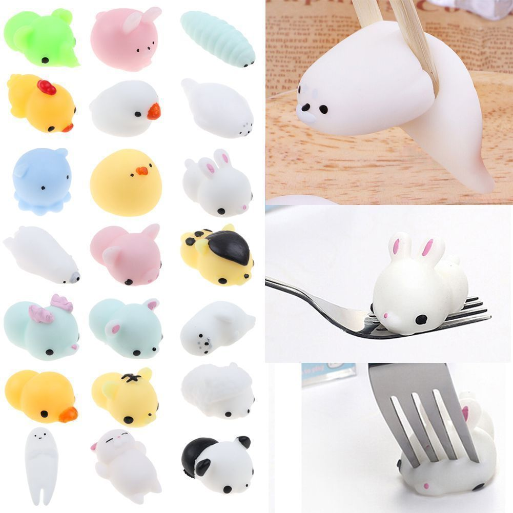 Squeeze Stretchy Cute Pendant Cake Kids Toy Gift Rabbit Slow Rising Kawaii Mini Mochi Bunny Phone & Bag Accessories Luggage & Bags