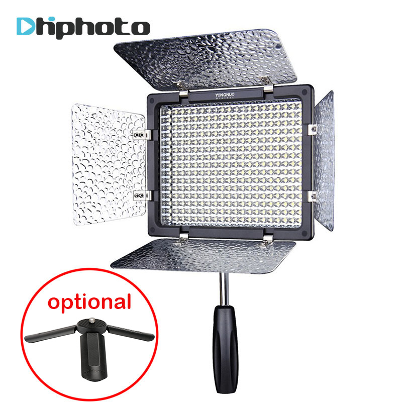 Yongnuo YN300III YN-300 III CRI95 LED Camera Video Light with Adjustable Color Temperature 3200K-5500K for Canon Nikon Olympas yongnuo yn300 air 3200k 5500k yn 300 air pro led camera video light with np f550 battery and charger for canon nikon