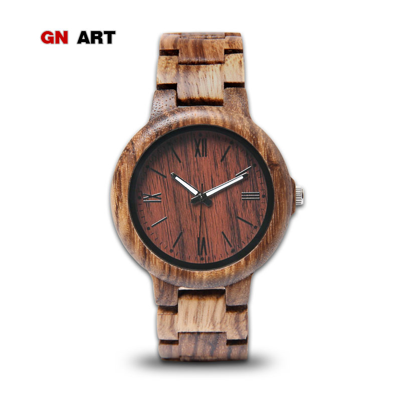 GNART wood watch of men watches top brand luxury 2018 wooden watch quartz watch mens relogio masculino недорго, оригинальная цена