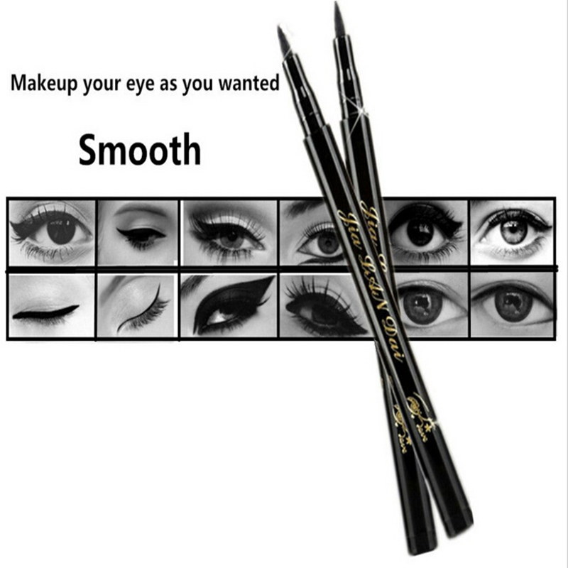 New Style Waterproof Beauty Makeup Cosmetic Liquid Eye Liner Eyeliner Pen Pencil Black To Eye