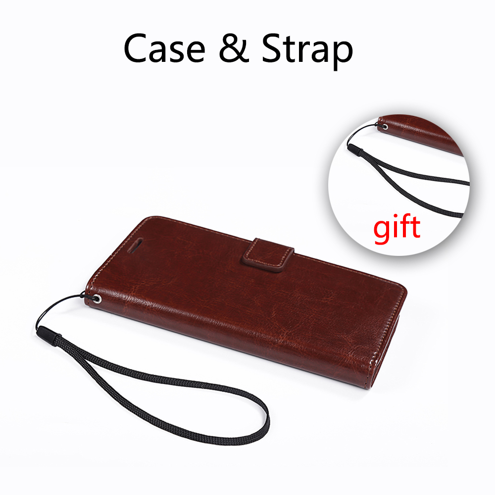 Buatan tangan Untuk Redmi 4x4 Pro Kasus Kulit Mewah Dompet Pemegang - Aksesori dan suku cadang ponsel - Foto 6