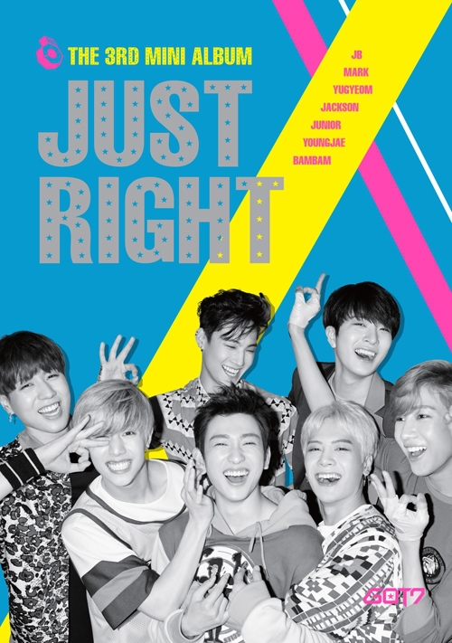 GOT7 3RD MINI ALBUM - JUST RIGHT  + 84p Booklet + 1 Photocard + 1 Photo) Release Date 2014-7-14 KPOP bigbang taeyang new album rise booklet 48p sticker release date 2014 06 09 kpop
