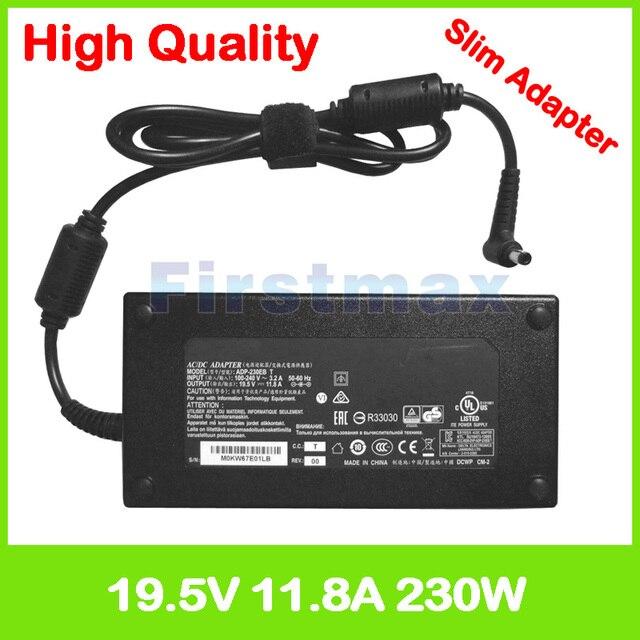 Asus rog strix gl502vs g502vs gl502vsk fx502vs g502vsk 0a001-00390900 용 19.5 v 11.8a ac 어댑터 전원 노트북 충전기