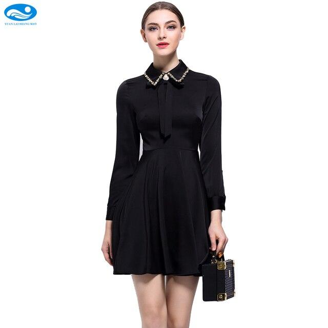 high quality pink office dress ladies satin dress long sleeve mini t shirt dress high
