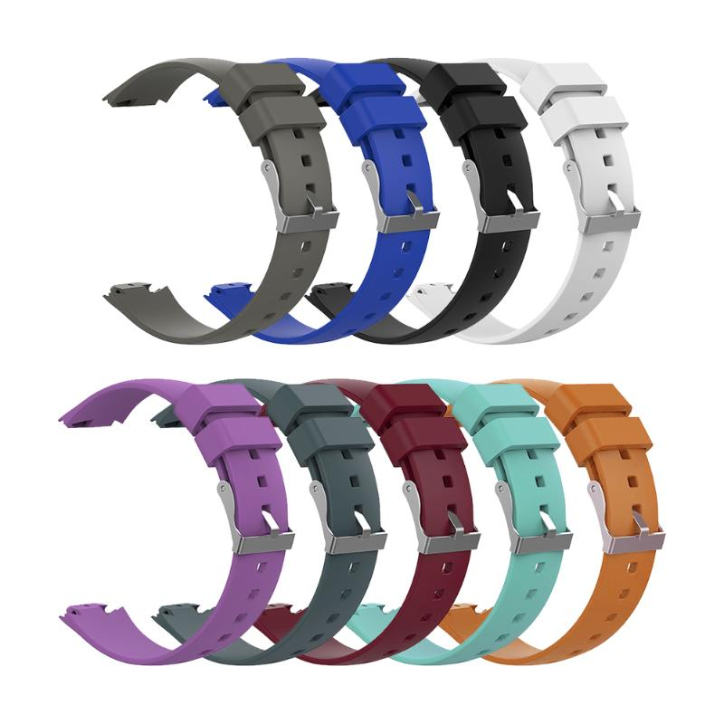 Silicone Smartband Strap Band Quick Release 20.5cm Smart Bracelet Straps Bands Replacement 9 Colors for ASUS ZenWatch 3