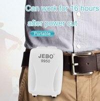 JEBO 4000 мАч Батарея хранения воздушный насос AC/DC двойной Применение для аквариума Портативный воздушный насос для рыбалка USB зарядка 9950
