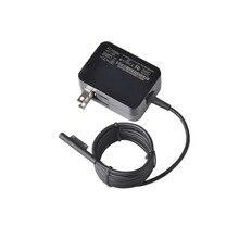 Adaptador de corriente para portátil plegable 15V 1.6A 24W, cargador para Microsoft Surface Pro 4, venta directa del fabricante US Plug