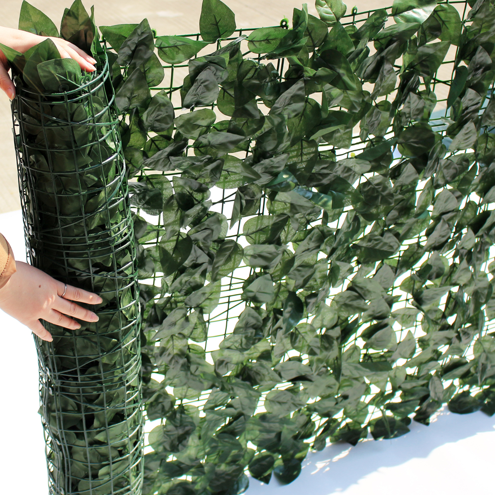 Uland Garden Plastic Chain Link Privacy Fence 1x3m