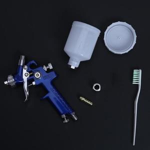 Image 3 - Professional 0.8MM/1.0MM Nozzle H 2000 Mini Air Paint Spray Gun Airbrush HVLP Spray Gun for Painting Car Aerograph Airbrush