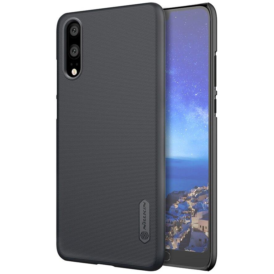 Für Huawei P20 Fall für Huawei P20 Pro Abdeckung NILLKIN Super Matt Schild harte rückseitige abdeckung fall Für Huawei P20 pro mit Geschenk