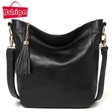 BVLRIGA Luxury Handbag Women Bag Designer Famous Brands Female Shoulder Bag Women Messenger Bags Genuine Leather