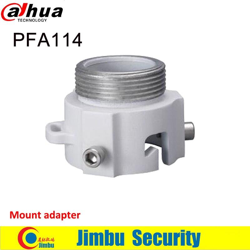 Dahua Bracket PFA114 mount adapter Aluminum material Neat and Integrated design cctv system work with bracket dahua hanging mount adapter pfa101