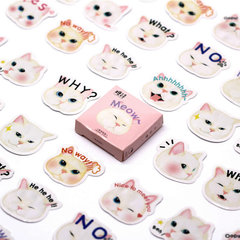 Mini Cute Kawaii Animals Princess Cat Memo Pad Sticky Notes Memo Notebook Stationery Note Paper Stickers School Supplies(China)