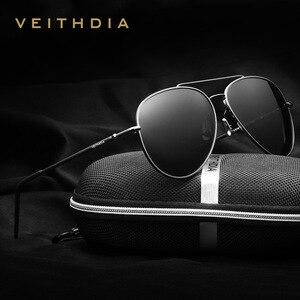 NEW VEITHDIA Men Sunglasses Br