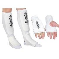 2017 Taekwondo glove foot protector karate sparing hands feet guard TKD ankle guard Martial arts protection half finger glove