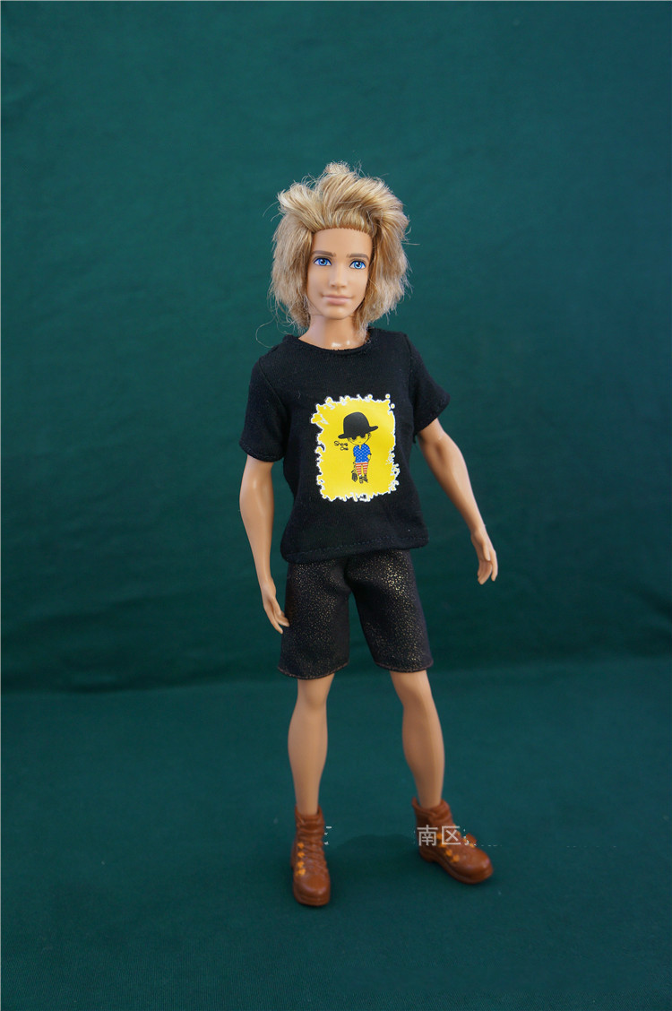 Fesyen Kanak-kanak mainan kanak-kanak Girls Hadiah pullip budak Aksesori Doll aksesori kasual menetapkan banyak pakaian Untuk Barbie teman lelaki Dolls 1/6 ken