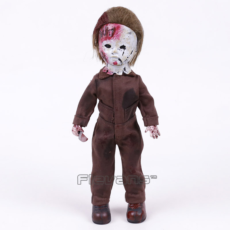 Living Dead Dolls Presents Halloween 2 Michael Myers PVC Action Figure Collectible Model Toy 28cm horror movie rob zombie halloween 2 killer michael myers living dead dolls presents mezco 28cm figure toys collectible model box