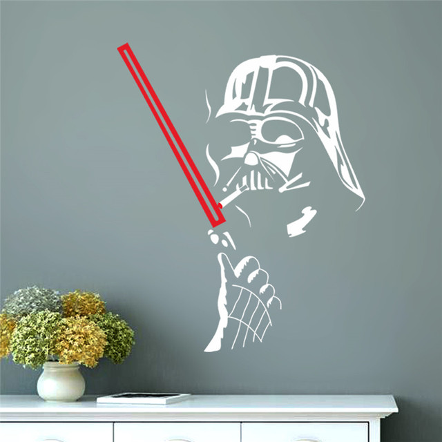 Star Wars Wall Art Home Decoration Wall Decals Vinyl House Decor Mural  Famous Movie Sticker For