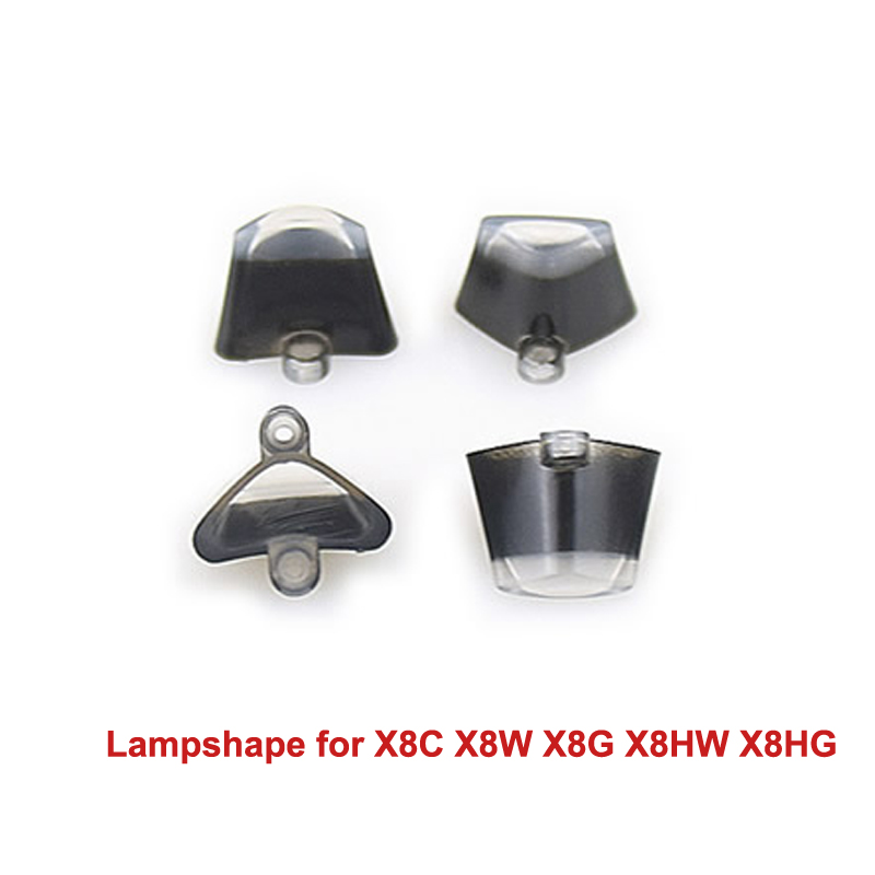 4PCS/Set Original Lampshape for SYMA X8C X8W X8G X8HW X8HG RC Drone LED Light Shell Lampshape Spare parts Lampcover Accessories image