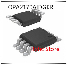 NEW  10PCS/LOT OPA2170AIDGKR OPA2170AIDGKT OPA2170 OPNI MSOP-8 IC