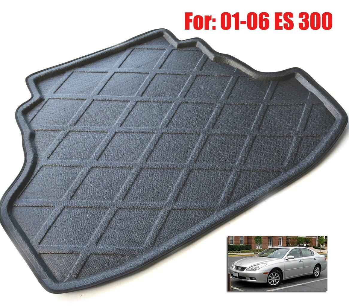 Lexus es 350 rubber floor mats - Fit For 2001 2006 Lexus Es 300 Boot Liner Rear Trunk Cargo Mat Floor Tray