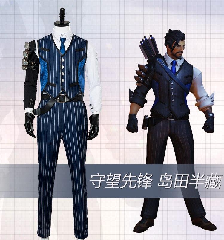 Cosplay Shimada Hanzo Game Shimada Hanzo Cosplay Costume 2