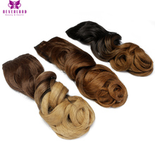 Neverland Beauty & Health Long Wavy Ombre 10Colors 24″ 60cm 5Clips Synthetic Hairpieces Clip-in One Piece Hair Extensions