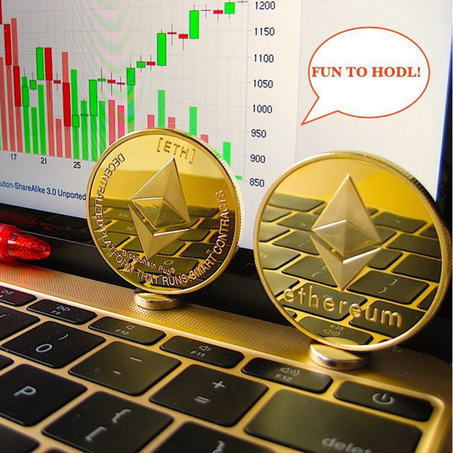 New Gold Plated Bitcoin Currency Coin Collection Physical Litecoin Gift Collection Art Antique Home Imitation  Party Decoration