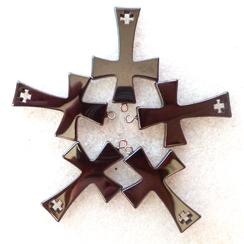 5 pieceslot wholesale natural carved hematite cross pendant bead 5 pieceslot wholesale natural carved hematite cross pendant bead 40x26x4mm free shipping fashion jewelry z4832 in pendants from jewelry accessories on aloadofball Gallery