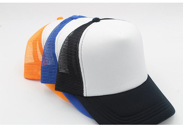 black trucker hat blank trucker hat mesh black caps trucker hat men women (5)