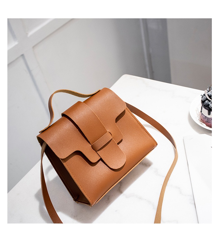 af20d9ee90da Luxury Small Leather Crossbody Bags for Women 2018 Brown Women ...