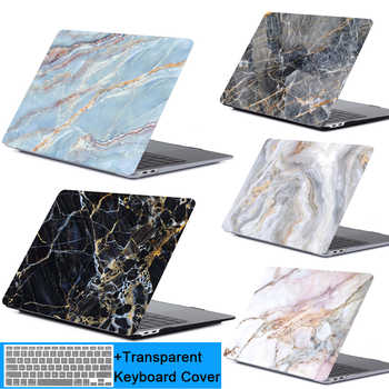 New 3D printing marble Laptop Case For Apple MacBook Air Pro Retina 11 12 13.3 15.4 inch with Touch Bar shell +Keypad Cover - DISCOUNT ITEM  35% OFF All Category