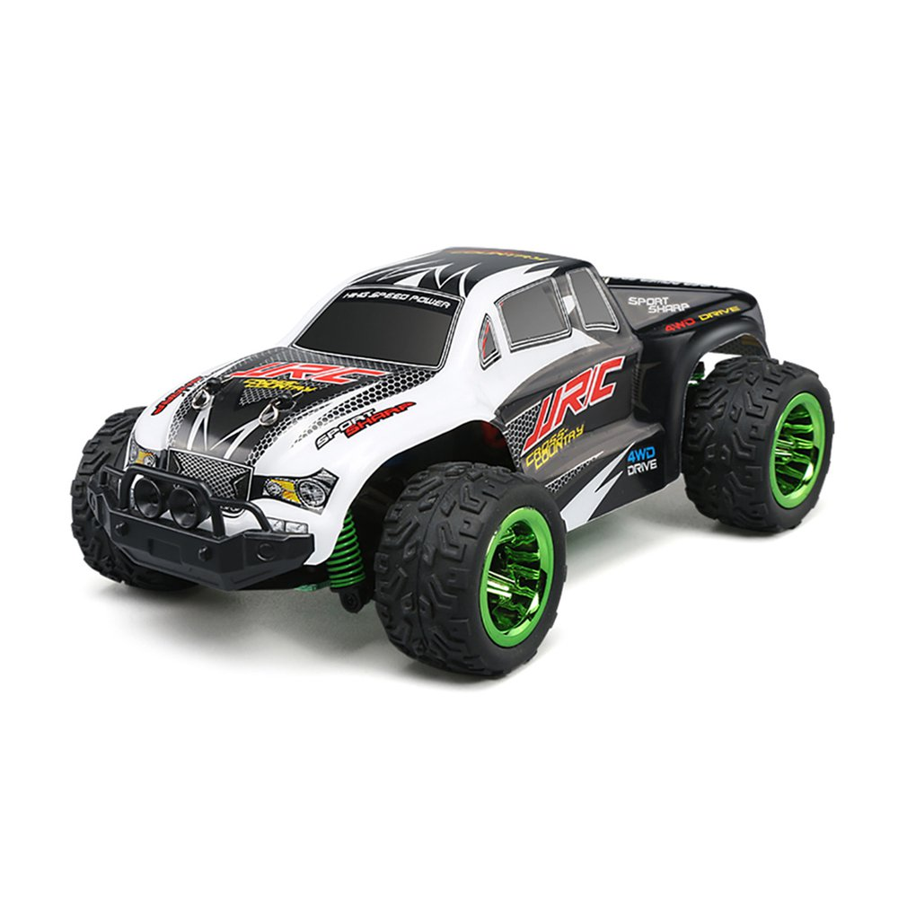 JJR/C Q35 1/26 Scale 2.4Ghz 4WD 30km/h High Speed RC Bigfoot Off-Road Electric RC Remote Control Racing Car Truck Model RTR